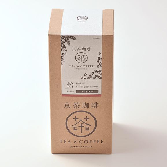 【京茶珈琲】焙(ほうじ)オーガニック/箱/100g [京茶珈琲]