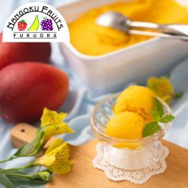 南国フルーツ・フルーツソムリエが作った濃厚ジェラート『とろけるマンゴー』