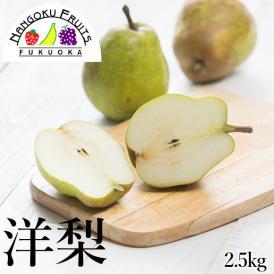 南国フルーツ・洋梨2.5kg (8-~玉)