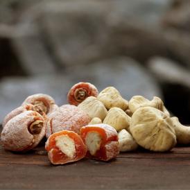 【送料無料】栗きんとん入り干し柿 栗柿&栗きんとん 10個セット