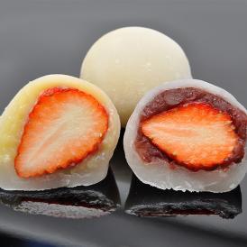 【6個箱入り】いちご大福 つぶあん・カスタードクリーム