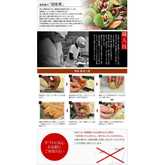 【送料無料】栗きんとん入り干し柿 栗柿10個セット04