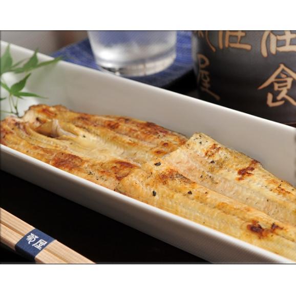 送料無料 国産鰻白焼二尾セット【成田・日本料理 菊屋】01
