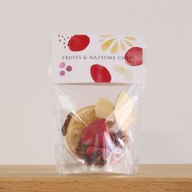フルーツ&なつめチップ 無添加 なつめチップス ドライフルーツ フリーズドライ 乾燥なつめ りんご いちご フルーツティー プチギフト 母の日 ご挨拶 なつめ チップ 自然食品 フレーバーウォーター