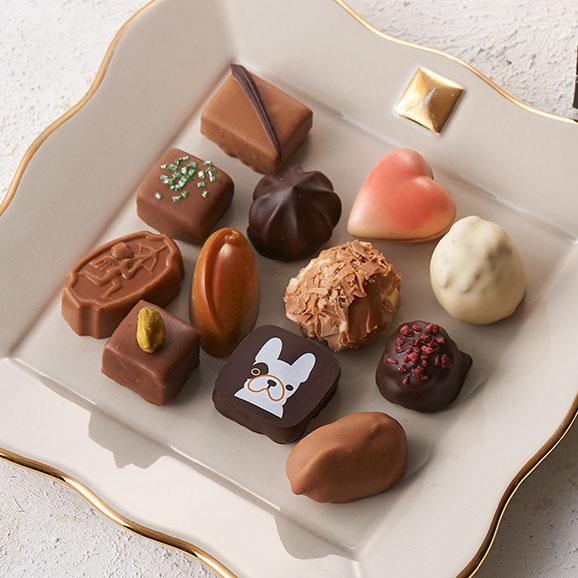 ベルギーチョコレート プラリネアソート12個入り01
