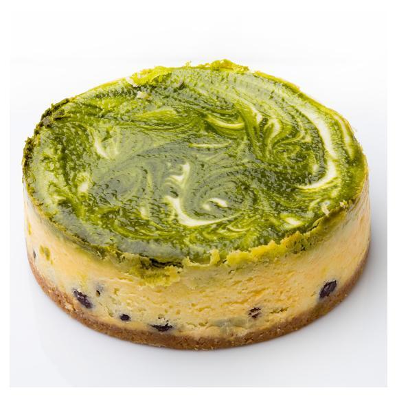 抹茶のチーズケーキ02