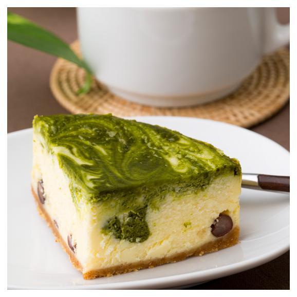 抹茶のチーズケーキ03