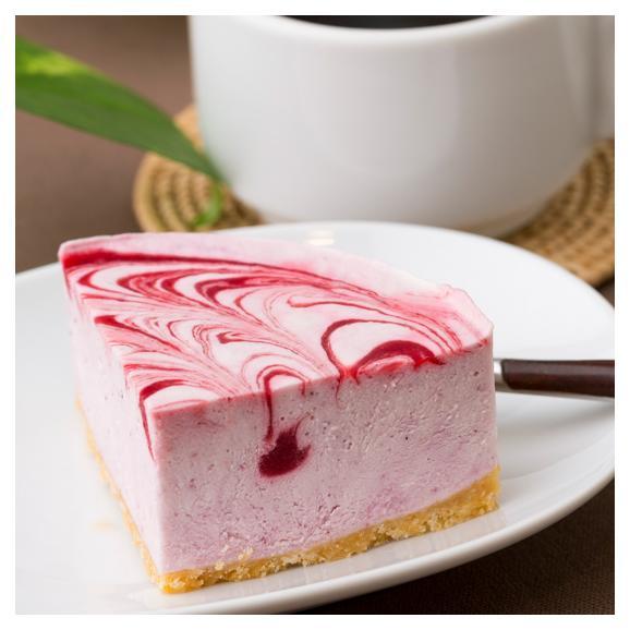 ベリーのレアチーズケーキ03