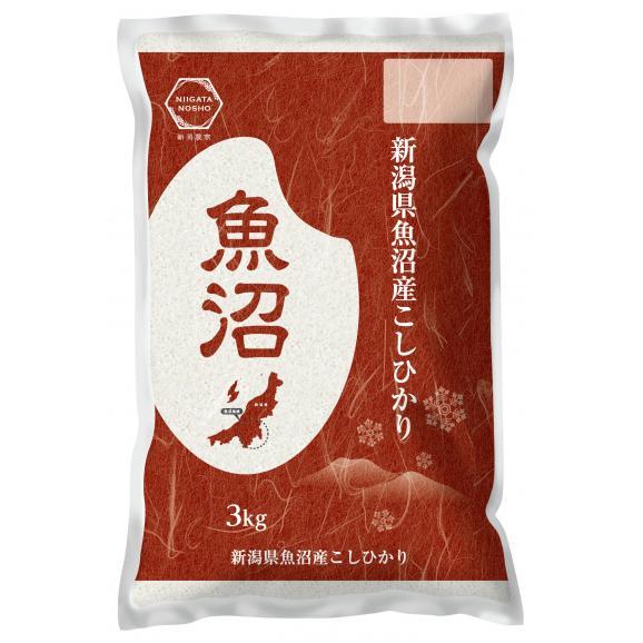 新米【令和3年産】 魚沼産 コシヒカリ 3kg 精米01