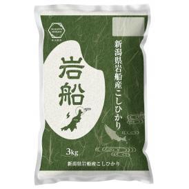 【令和2年産】 岩船産 コシヒカリ 3kg 精米