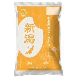 【令和2年産】 新潟産 コシヒカリ 3kg 精米