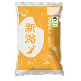 令和2年産 【特別栽培米】 新潟産 コシヒカリ 3kg 精米