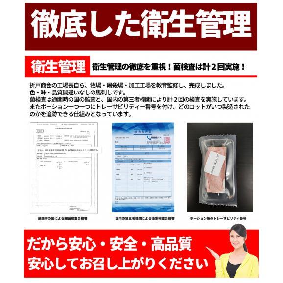 【送料無料】馬肉堪能ギフトセット 計870g/計9種/馬刺しのタレ付き/豪華ギフトBOX付き04