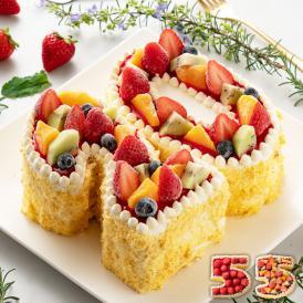 パティシエこだわりの手作りケーキが人気! 誕生日や記念日に!記念の数字をアイスケーキに