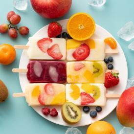 フルーツをふんだんに使った贅沢アイス