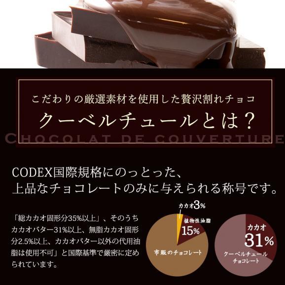 種類が選べるクーベルチュールのRICH割れチョコ 270g 割れチョコレート チョコレート 送料無料05