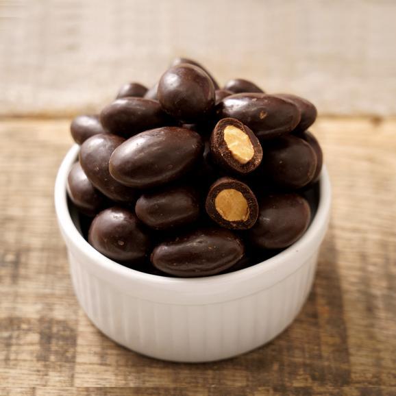 アーモンドチョコレート 500g 送料無料 ハイビター カカオ70%以上 スイーツ01