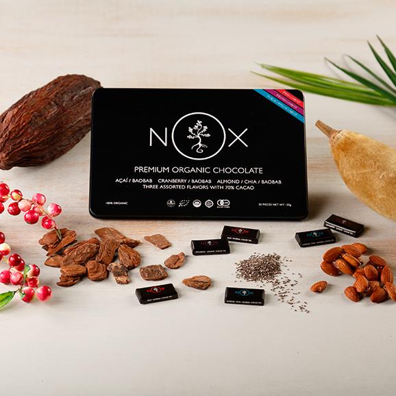 NOXプレミアムオーガニックチョコレート  Mixed Edition01