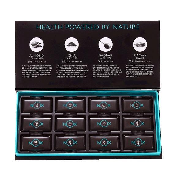 NOXプレミアムオーガニックチョコレート アーモンド&チアシード02