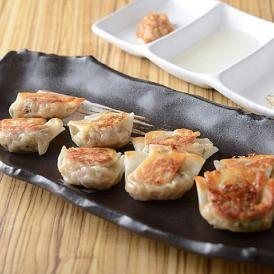 3種の貝汁の旨みを閉じ込めた「バームクーヘン豚と貝の旨汁餃子」30個入り・・読売テレビすまたんZIP!で紹介されました♪