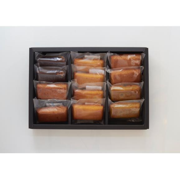 焦がしバター香るフィナンシェアソートセット(12個入り)02