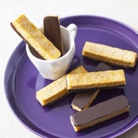 ビターチョコと軽やかな口当たり