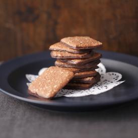 マカデミアナッツをふんだんに使用し、シナモンをきかせた大人のチョコクッキー