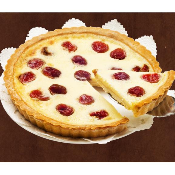 果樹園のさくらんぼチーズタルト01