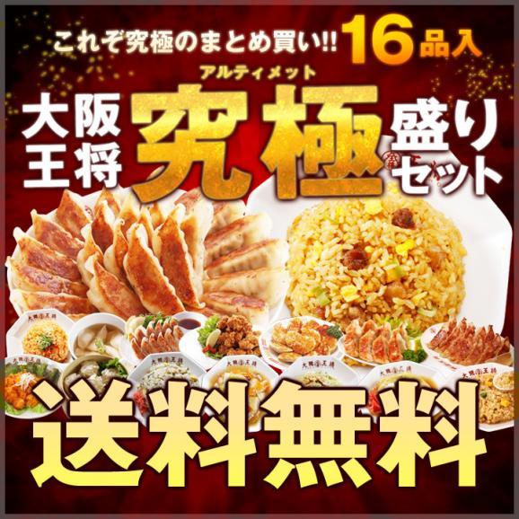 大阪王将アルティメットセット【送料無料】全16品01