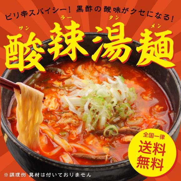 【6食入】 酸辣湯麺 【全国 送料無料 ※メール便出荷 】( ラーメン・ポイント消化 )01