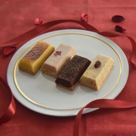 「OIMO」生スイートポテト バレンタインの4個ボックス