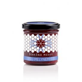 シェルクシュノ・メドゥス ハニーブルーベリー serksno medus honey with freeze-dried blueberries 200g