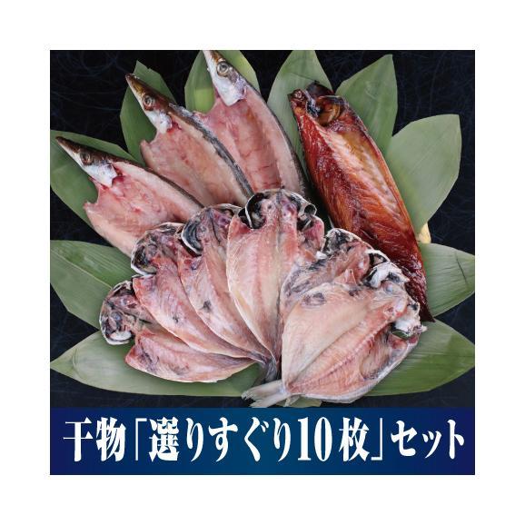 【漁師の浜焼あぶりや】量も味もお墨付き! 小田原干物「選りすぐり10枚セット」01