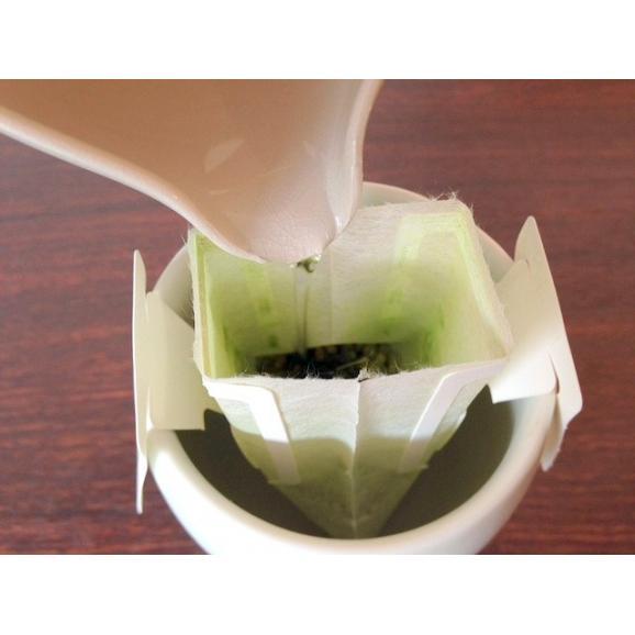 お茶屋さんの一服茶 抹茶入り玄米茶03