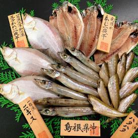 調理しやすくバーベキューにも最適♪干物好きにぴったりの定番の魚をセットにしました!