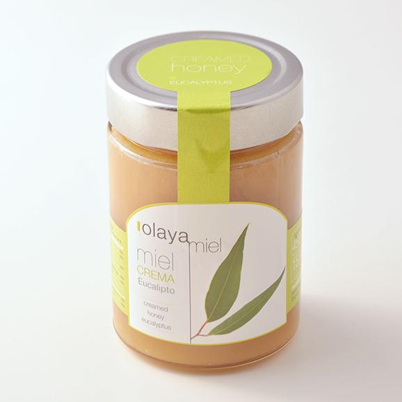 オラヤミエル クリーム蜂蜜(ユーカリ) 450g01
