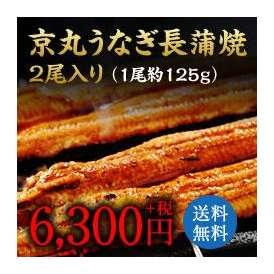 京丸うなぎ長蒲焼(2尾入り)