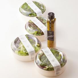 夏野菜に冬野菜をあわせる…ortolanoだからこそできる贅沢なサラダをご堪能ください