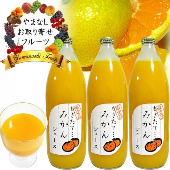 フルーツ ストレート ジュース ギフト 内祝 1L×3本詰め合わせ みかんオレンジジュース01