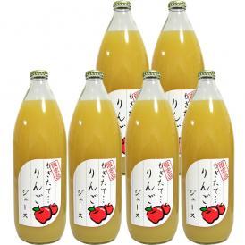 フルーツジュース ギフト 1L×6本 りんごアップルジュース ※お届け予定:2-4日程度(営業日)