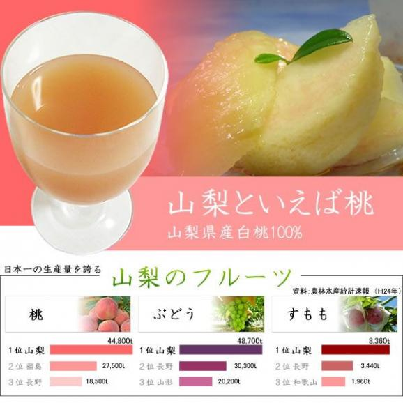 フルーツジュース ギフト 1L×6本 もも桃ピーチジュース05