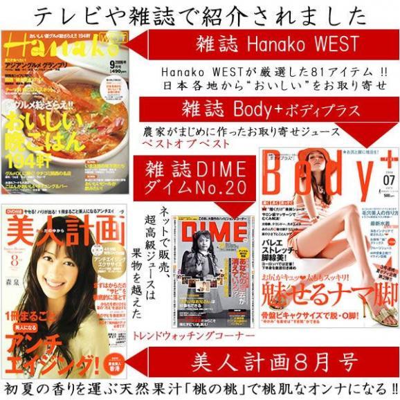フルーツジュース ギフト 1L×6本 みかんオレンジジュース04