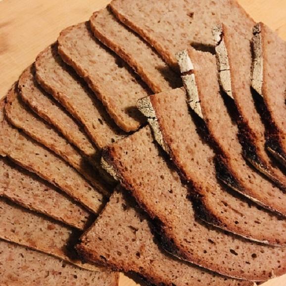 [クール冷蔵便]《自家製サワー種使用》国産ライ麦ドイツパンセット[M]04