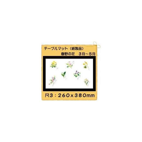 テーブルマット尺3春野の花No.308100枚