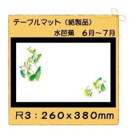 テーブルマット 尺3 水芭蕉 No.269 100枚
