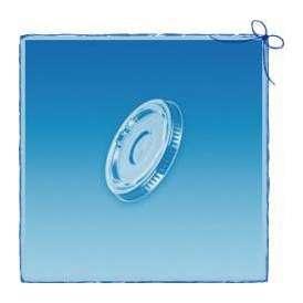 使い捨て リッド 78Φ ペットカップ用 フタ (10/12) 100個 GLDP78LD
