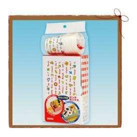 日本デキシー フレンズランチボックス+プチカップセット 2枚+10個