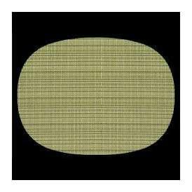 【sale】マット 尺3小判マット AS-10-2 フレッシュグリーン 390x292mm 1枚 <br>敷マット テーブルマット 樹脂マット02P05Sep15