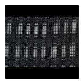 【sale】マット 尺4.5長手マット AS-7-2 ブラック格子 435x305mm 1枚 <br>敷マット テーブルマット 樹脂マット ランチョンマット02P05Sep15