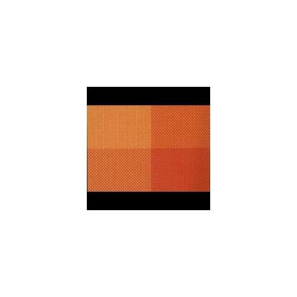 マット 尺4.5長手マット AS-8-9 オレンジ市松 435x305mm 1枚 <br>敷マット テーブルマット 樹脂マット ランチョンマット02P05Sep1501